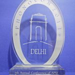 Award 7th Annual Conference APSI Army Hospital (Research & Referral) PHONOCON 2011